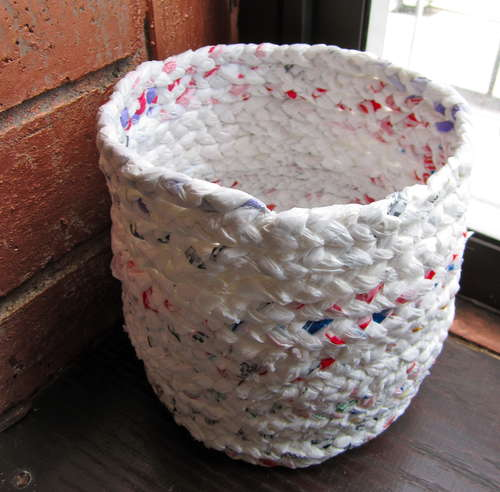 Upcycle Those Pesky Plastic Bags!