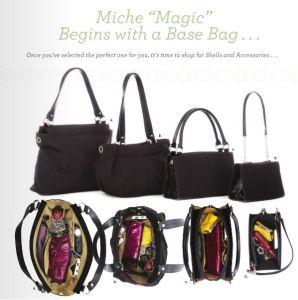 Interchangeable Miche base bags