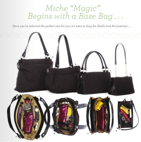 Interchangeable Miche base bags