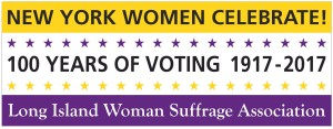 Suffrage banner