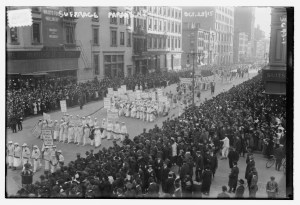 Photo #32 NYC suffrage parade