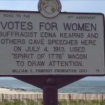 Historic Marker Honoring Suffragist Unveiled!