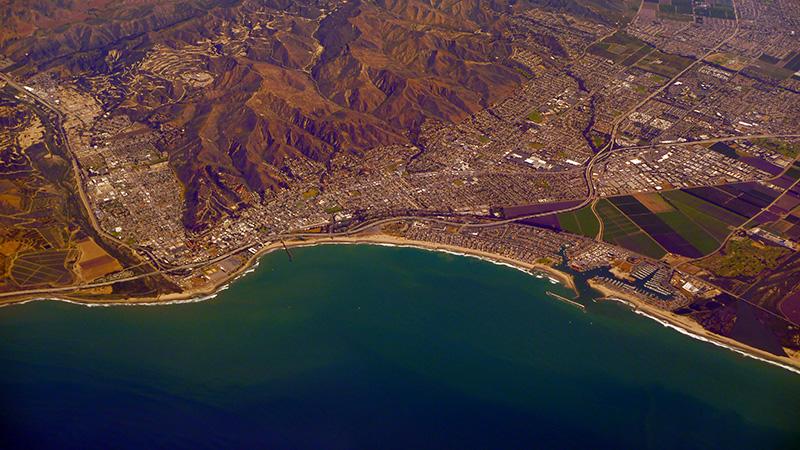 Longitude 123 Location in Ventura