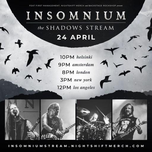 Affiche pour Insomnium - The Shadows Stream