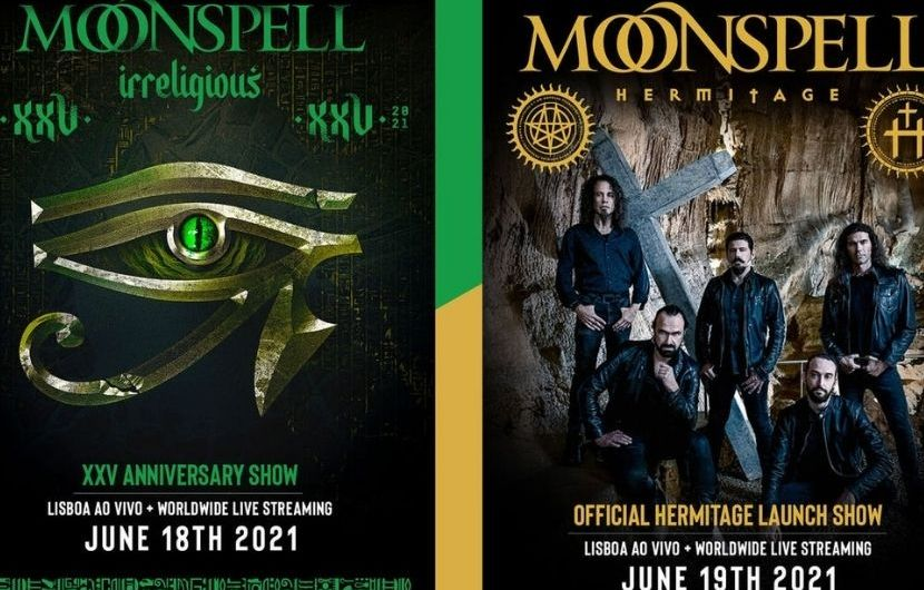 Moonspell annonce 2 concerts livestream en juin !