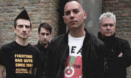 Photo du groupe punk rock Anti-Flag