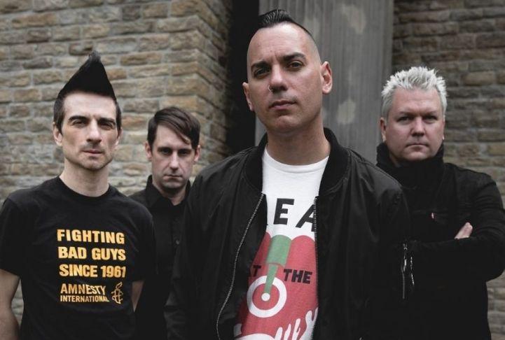 Photo du groupe punk rock Anti-Flag qui sort Born To Run