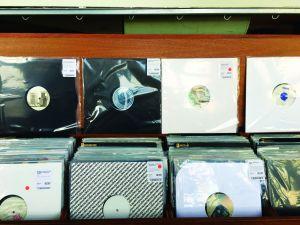Halcyon New York record shop