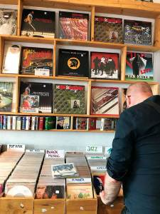 Vienna record shop Moses