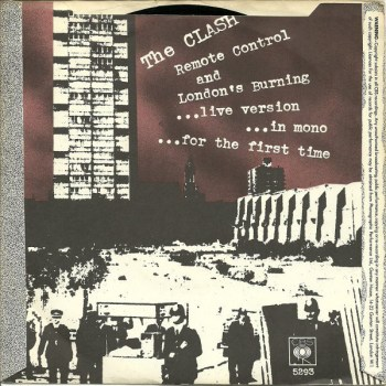 REMOTE CONTROL (BACK COVER) The Clash