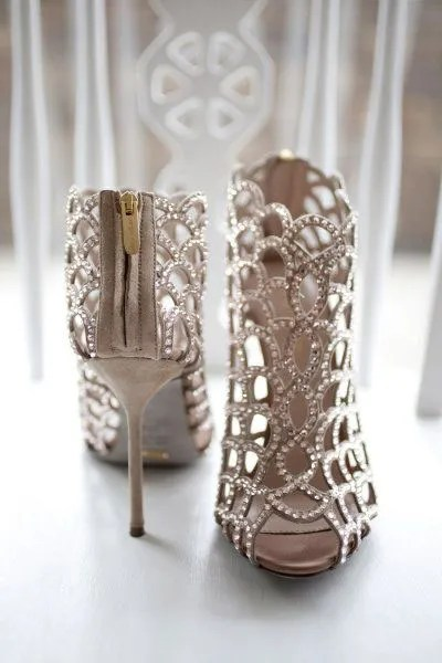 Sexiest Wedding Shoes Longmeadow Event Center--sergiorossi