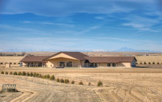 longmeadow event center on a clear day in colorado