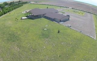 longmeadow event center from birds eye view