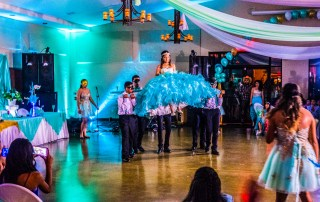 a dance happening at a quinceanera - Affordable Colorado Quinceañera