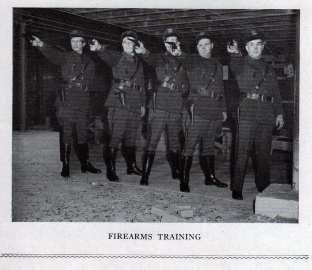 Firearms Training 1940's
