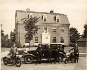 Former Police Station (1930's and 40's) which was also (and still is) the town hall.
