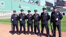 LPD Honor Guard Red Sox 2017