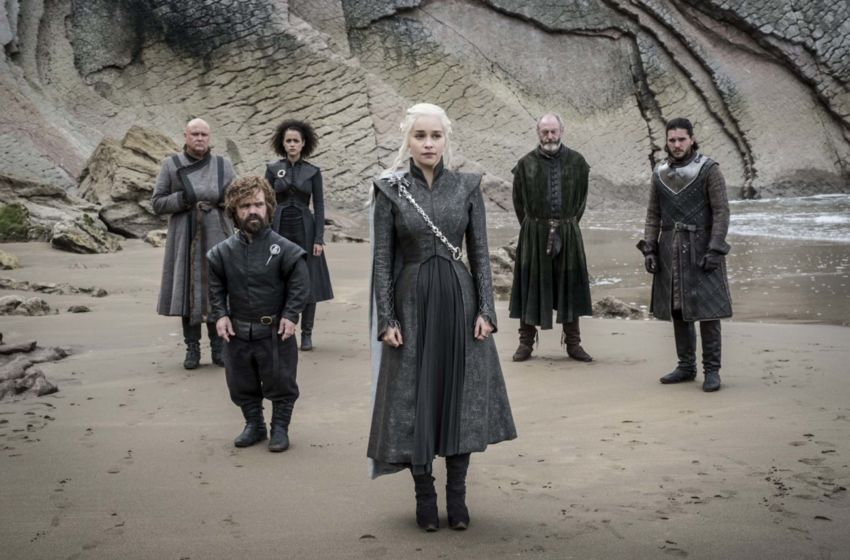 Dany and crew in Game of Thrones Season 7 Episode 4