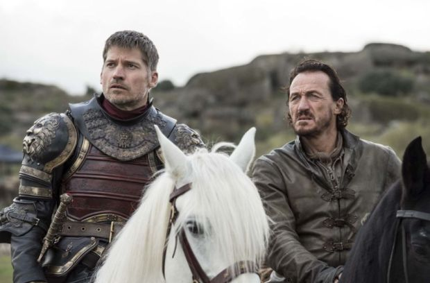 Jaime and Ser Bronne in Game of Thrones Season 7 Episode 4