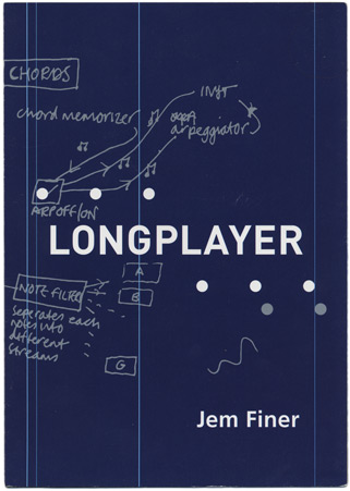 The first Longplayer leaflet, 1999. [Artangel]