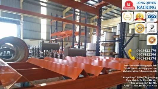 Kệ Phụ Tùng Thiết Bị Điện lắp tại công ty Biến Thế Hà Nội (6)