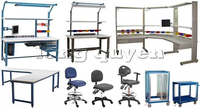 Bàn sản xuất bàn lắp ráp bàn công nghiệp (9)