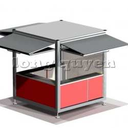 Kios bán hàng di động nhà lắp ghép (1)