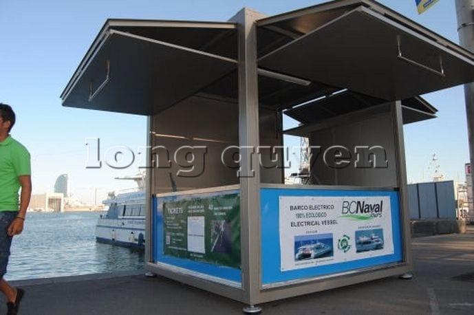 Kios bán hàng di động nhà lắp ghép (2)