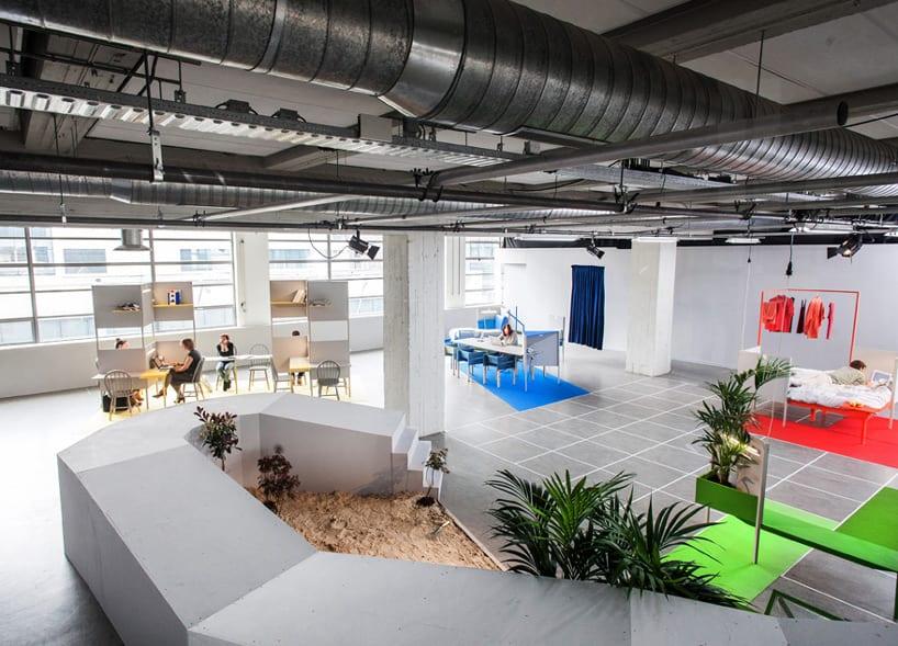 thiết kế nội thất văn phòng trong khu kho xưởng