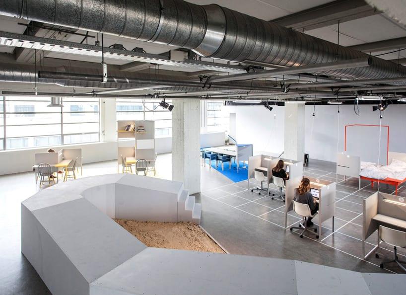 thiết kế nội thất văn phòng trong khu kho xưởng 5