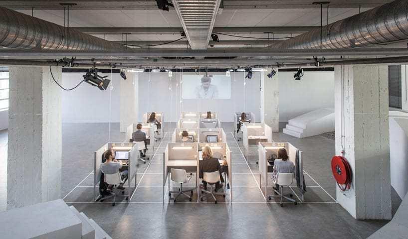 thiết kế nội thất văn phòng trong khu kho xưởng 7