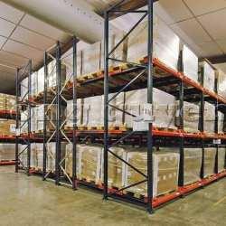 Giá Kệ Để Pallet Sàn Đẩy (Push Back Rack) (1)