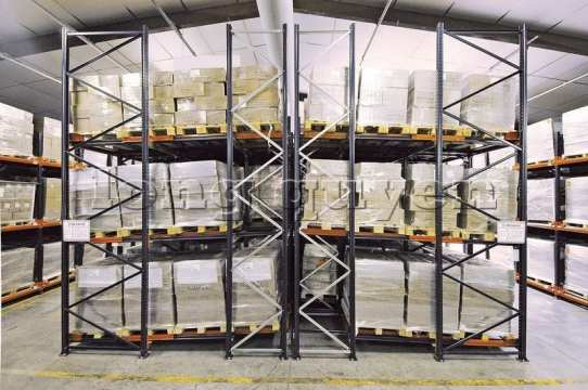 Giá Kệ Để Pallet Sàn Đẩy (Push Back Rack) (10)