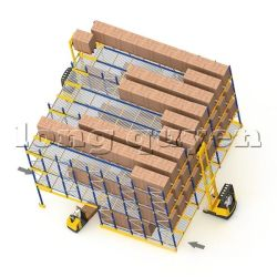 Giá Kệ Để Pallet Trôi (Flow Pallet Rack)