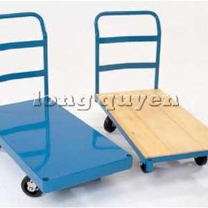 Xe đẩy sàn phẳng chở hàng nặng