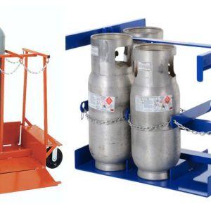 Pallet khung vách để bình khí và lỏng