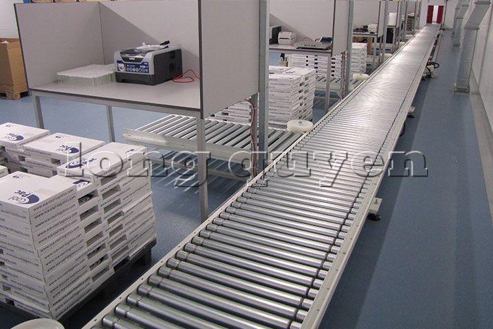 Băng chuyền băng tải con lăn công nghiệp ru lô (7)