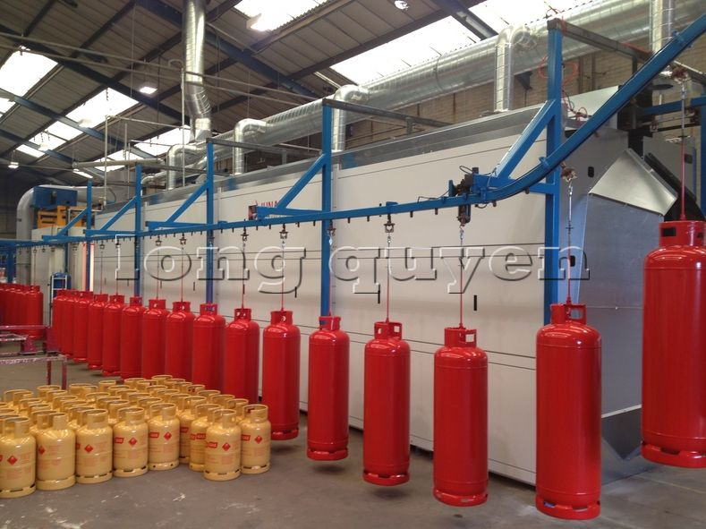 Băng chuyền treo dây băng tải công nghiệp treo cao (2)