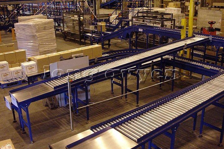 Băng tải công nghiệp băng tải phân làn Sortation Systems (2)