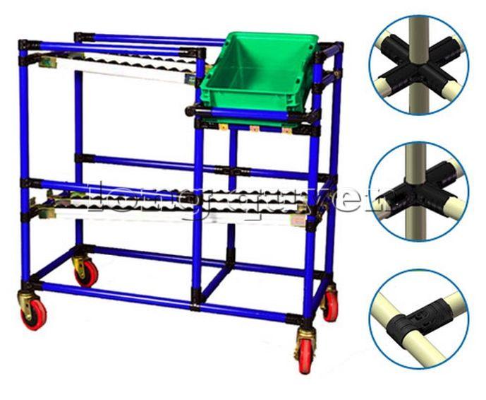 Hệ thống ống thép lắp ráp với khớp nối lắp ráp đa năng (9)