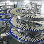 Băng tải băng chuyền con lăn công nghiệp vận thăng xoắn ốc