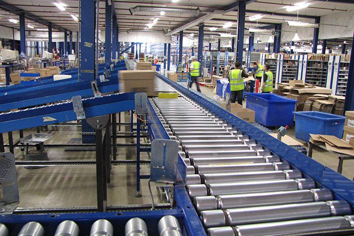 Băng tải công nghiệp băng tải phân làn