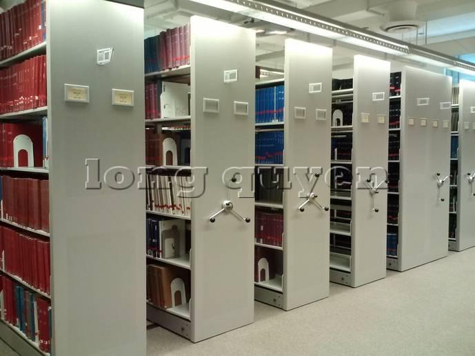 Giá kệ thư viện di động gia kệ chạy trên ray (2)