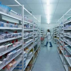 Giá kệ dược phẩm trong nhà thuốc bệnh viện