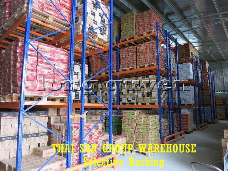 Kệ chứa hàng pallet lựa chọn Selective Pallet Rack kho Thái Sơn Group (5)
