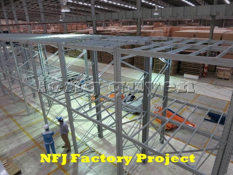 Giá kệ pallet giá kệ kho hàng lắp ráp tại nhà máy NFJ (4)
