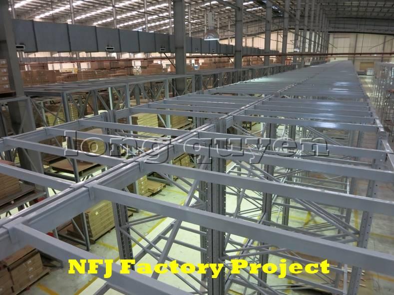Giá kệ pallet giá kệ kho hàng lắp ráp tại nhà máy NFJ (5)