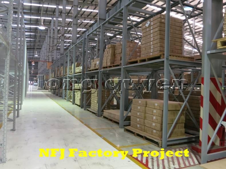Giá kệ pallet giá kệ kho hàng lắp ráp tại nhà máy NFJ (9)