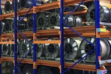 Giá kệ Drive In chứa pallet để cuộn dây nhà máy SMHN (10)
