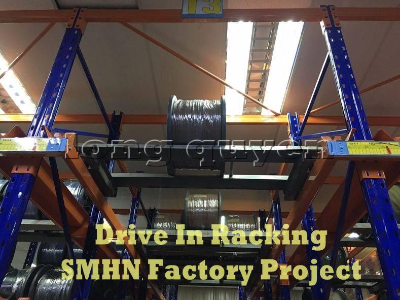 Giá kệ Drive In chứa pallet để cuộn dây nhà máy SMHN (2)